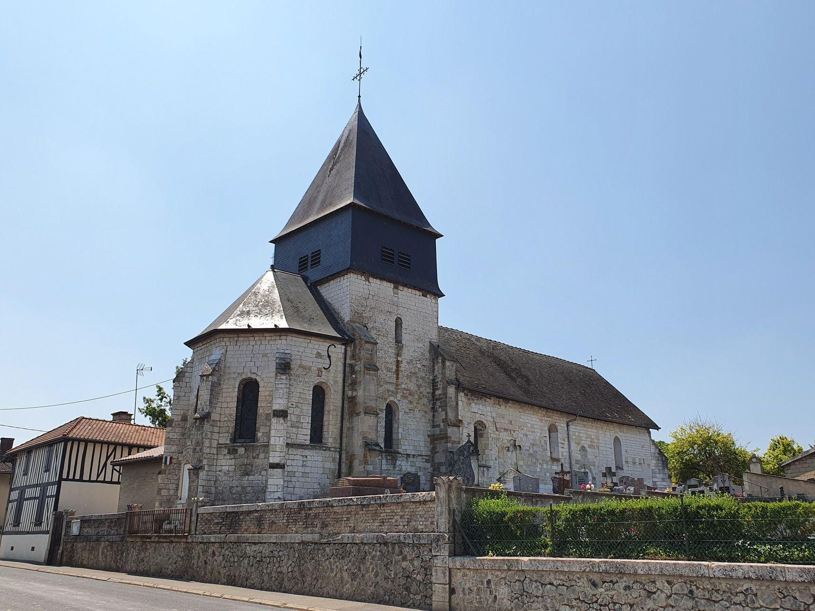 Église Saint-Louvent, à Blaise-sous-Arzillières