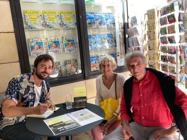 Samedi 10 juillet librairie Darrigade à Biarritz