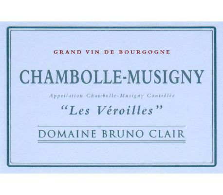Chambolle-Musigny, Les Véroilles, Domaine Bruno Clair, 2013