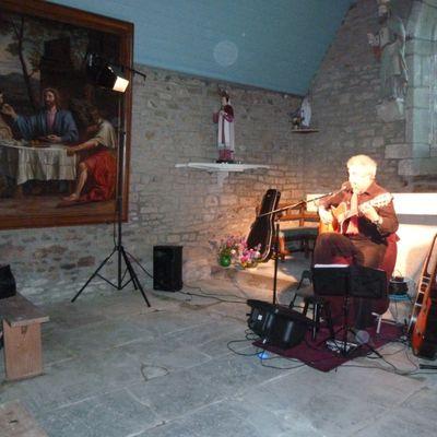 H ROBERT en concert à Saint-Bily