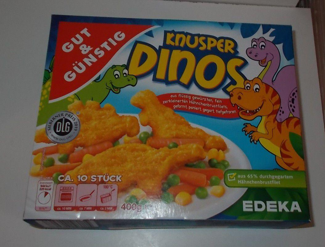 Edeka Gut & Günstig Knusper Dinos
