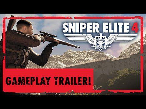 ACTUALITE: Premier #trailer de #gameplay pour #SniperElite4