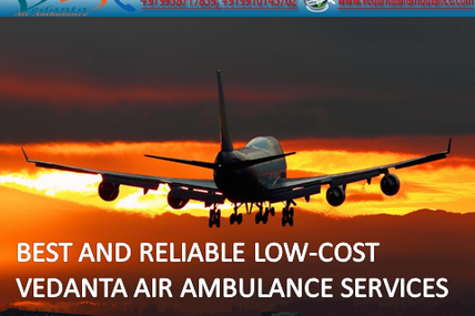 A Special Team of doctors and Nurses provider by Vedanta Air Ambulance Service in Ranchi with complete door to door Service