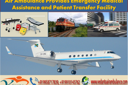 Air Ambulance in Delhi Provides Emergency Medical Assistance and Patient Transfer Facility
