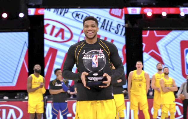 Team LeBron remporte la 70ème édition du All-Star Game, Antetokounmpo élu MVP