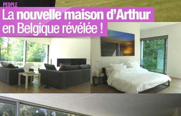 La nouvelle maison d'Arthur en Belgique révélée ! #ExilFiscal