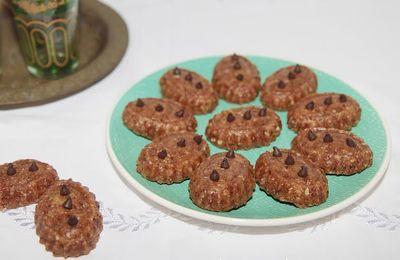 Petits fours aux amandes et raisins secs