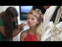 Making off - Collection Brigitte Mattei - Creazione festival Bastia 2015
