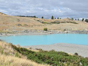Les lacs Pukaki et Tekapo