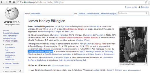 James Hadley Billington - Wikipédia