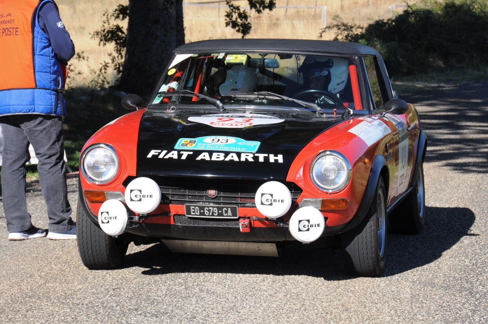 Fiat 124 Spider Abarth 1973 ..... Photo : RS