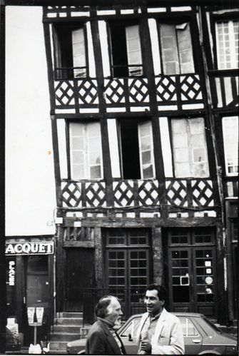 Guy PERROUIN et Emmanuel CRIVAT-IONESCO à Rennesvers 1989