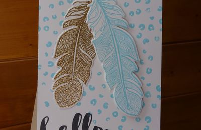 Sandrine/ Clean & Simple Boutique Cards