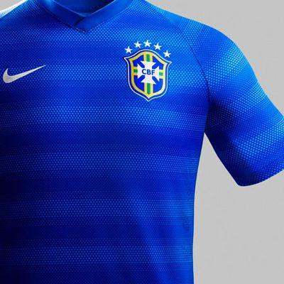 Nike Brasilien Away trikot WM 2014