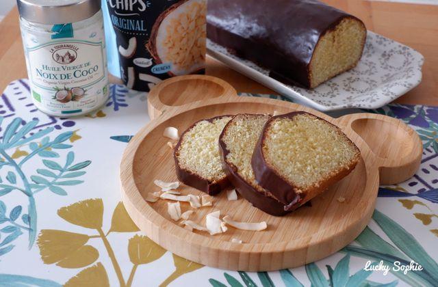 Cake coco chocolat façon Bounty & Degusta Box Comme un chef