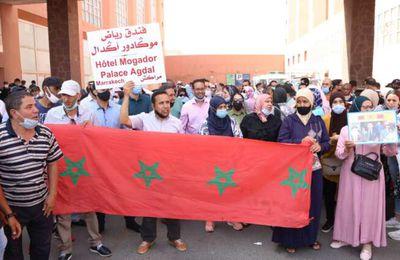 Maroc: La FSM appuie les travailleurs du groupe hôtelier Mogador à Marrakech