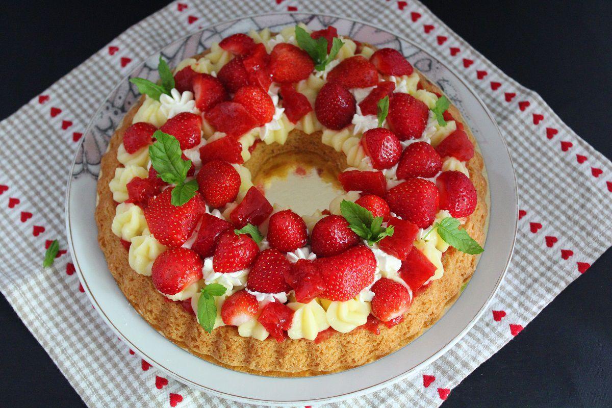 Tarte fraicheur crémeux citron et fraises