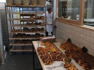 Le pain est fabriqué sur place, et la qualité remarquable.