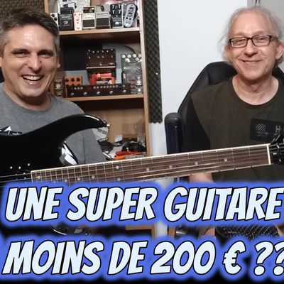 TEST : guitare EAGLETONE Raven par WOODBRASS