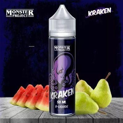 Test - Eliquide - Kraken gamme Monster Project de chez Freaks