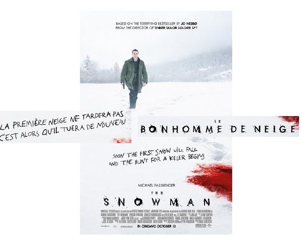 LE BONHOMME DE NEIGE (2017)  titre original The Snowman