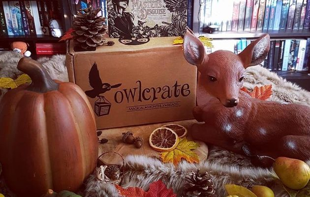 Unboxing OwlCrate (n°14)