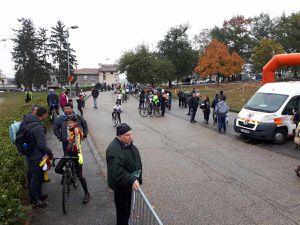 Dimanche 28 octobre 2018 dans le parc des Bruneaux de Firminy, Cyclo cross organisé par l'Etoile Cycliste Ouvrière de Firminy présidée par Jean-Paul Leroux.