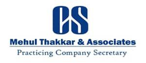 Practicing Company Secretary in Ahmedabad, Gujrat, and India - Mehul Thakkar & Associates