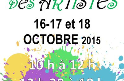 Salon de artistes à Noyal-Pontivy, 4ème participation !