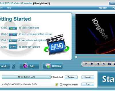 How to Convert/Import/Load/Get AVCHD to Windows Movie Maker supported AVI, WMV, MPG, ASF, MP3 files?