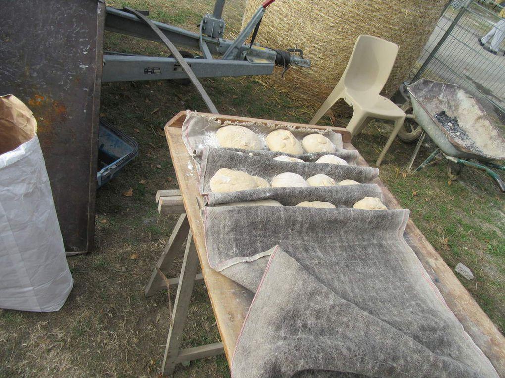 Les étapes de la fabrication du pain.