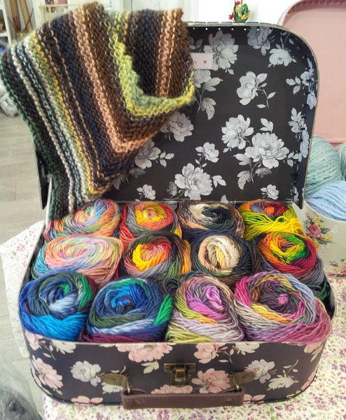 Pur Mérino à tricoter avec des aiguilles 4,5-5mm