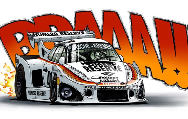 "Porsche 935K3 ""Cartoon"""