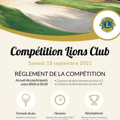 COMPETITION DU LIONS CLUB