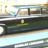 FASCICULE N°49 DAIMLER DS 420 LIMOUSINE 1987 FILM CASINO ROYALE JAMES BOND - car-collector.net
