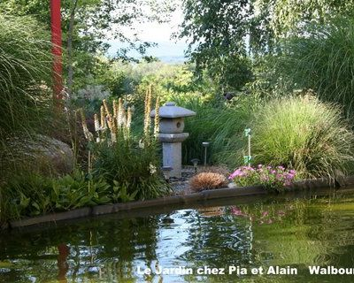 Reportage sur notre jardin ... France 3 Alsace RUND UM
