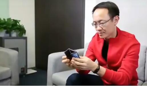 Xiaomi muestra al mundo el primer teléfono plegable