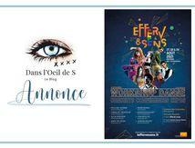 🗣 Annonce - 4ème édition du Festival Efferv&Sens !