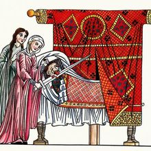 Judith dans l' Hortus Deliciarum
