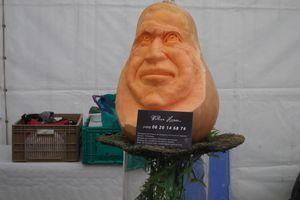 Des légumes sculptés pour le plaisir des yeux
