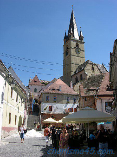 Sibiu, Roumanie en camping-car