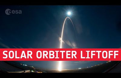 Décollage de Solar Orbiter @esa @nasa
