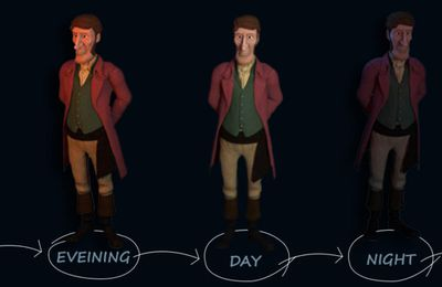 KEY ROLES OF LIGHTING AND SHADING SKILLS IN CREATION OF GAME CHARACTERS IN GAME OUTSOURCING COMPANY