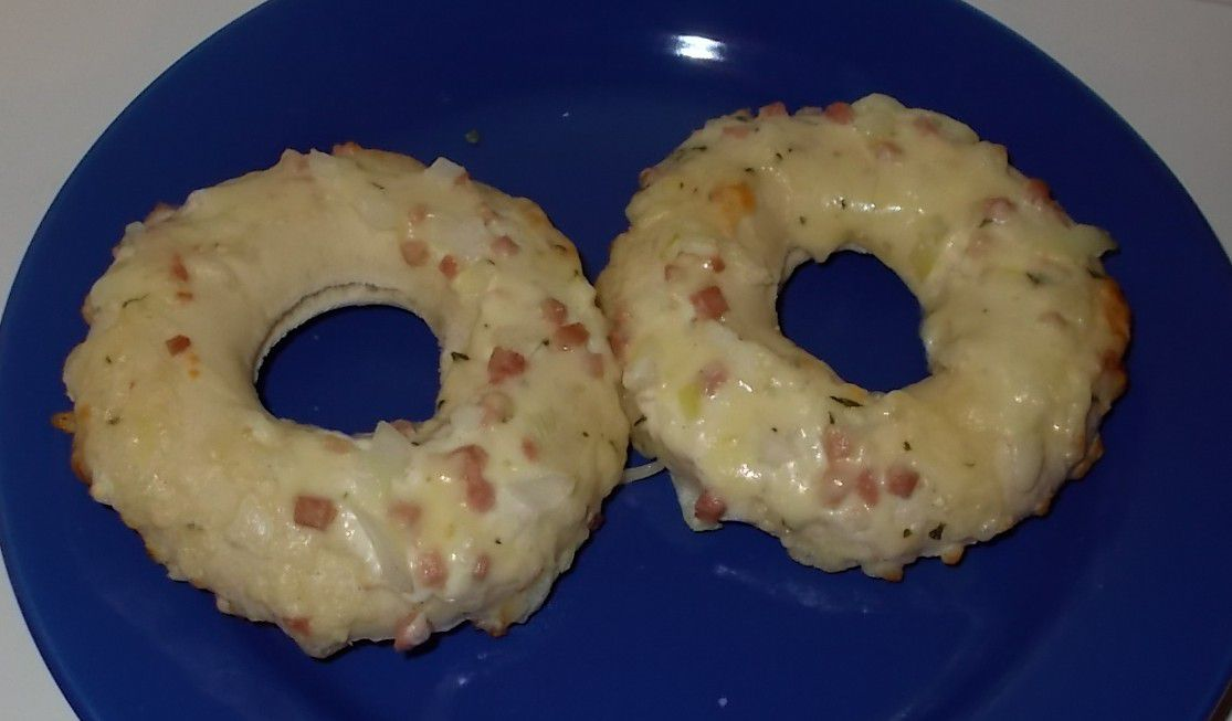 Lidl Alfredo 2 Pizza Donuts Bacon