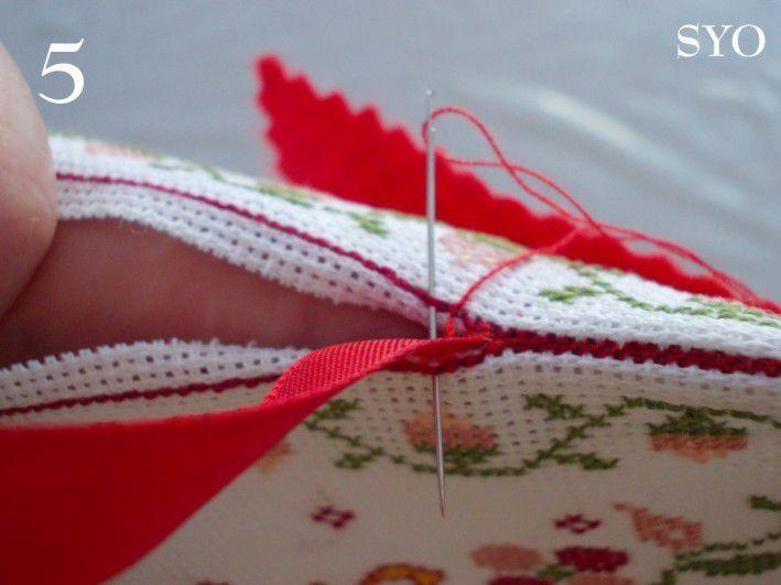 Tutoriel de montage d'un Carnet à Aiguilles, couture façon biscornu