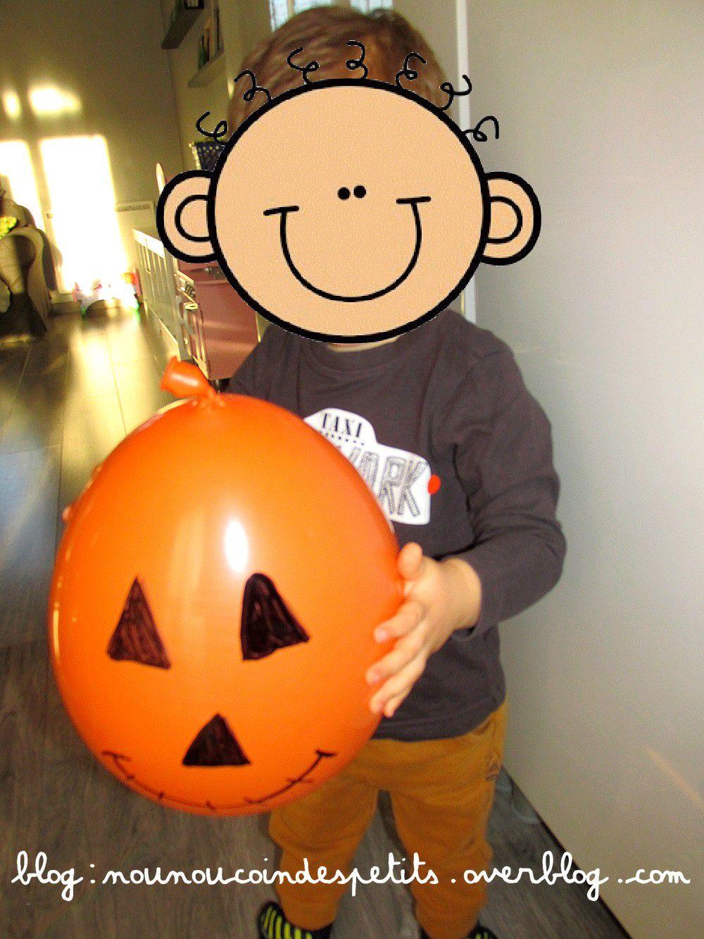 .. Les ballons D'halloween ..