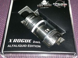 Test - Clearomiseur - X Rogue Alfaliquid Edition de chez Dark Vapor