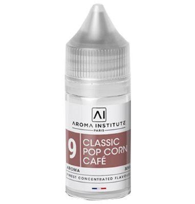 Test - Eliquide - DIY - Arôme N°9 Classic Pop Corn Café gamme Aroma Institute de chez J Well