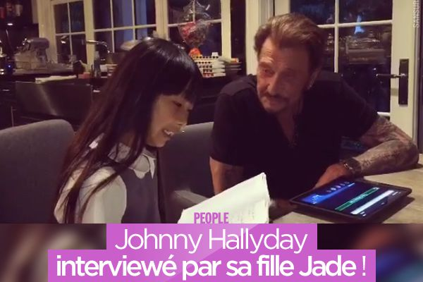 Johnny Hallyday interviewé par sa fille Jade ! #Interview