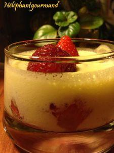 Crème de mascarpone aux fruits rouges, la douceur en verrine